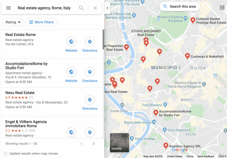 Google Maps-Datenextraktor