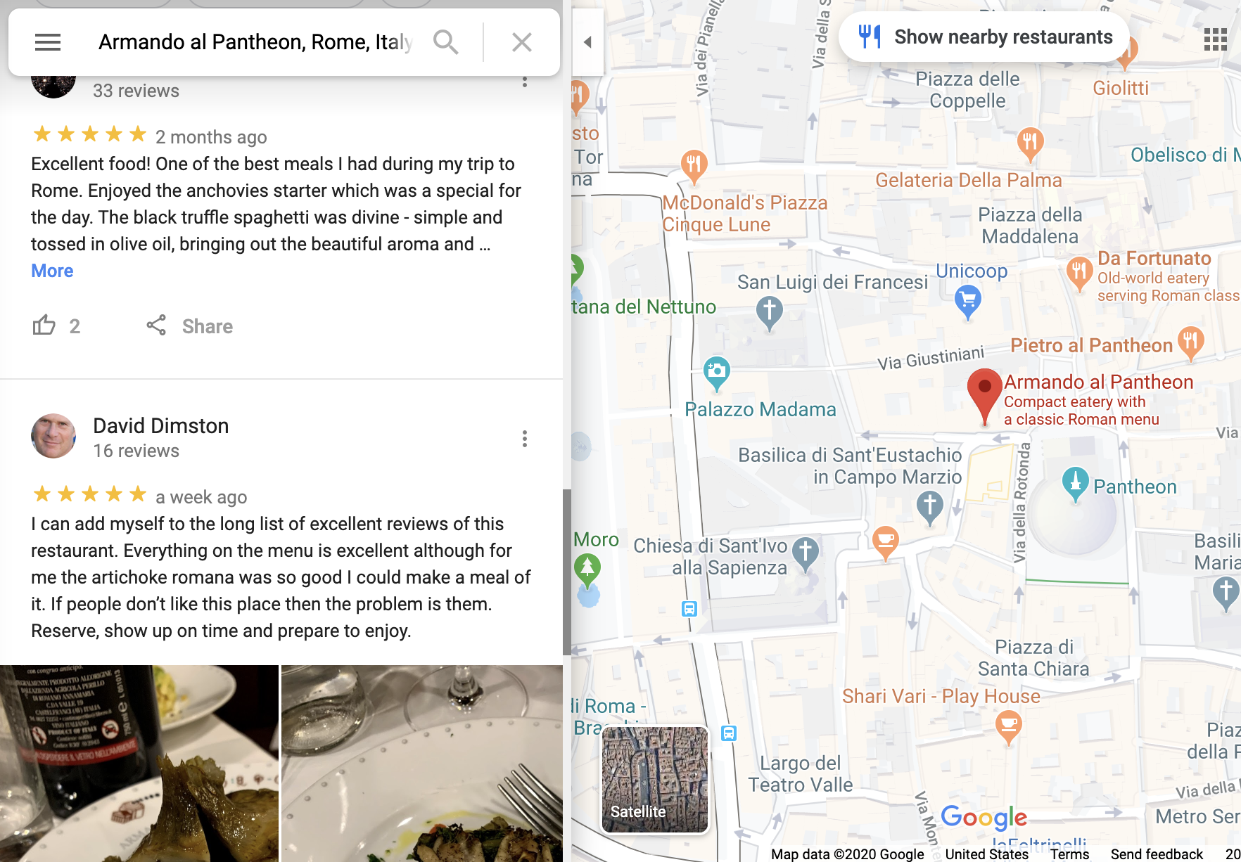 Google Maps reviews extractor