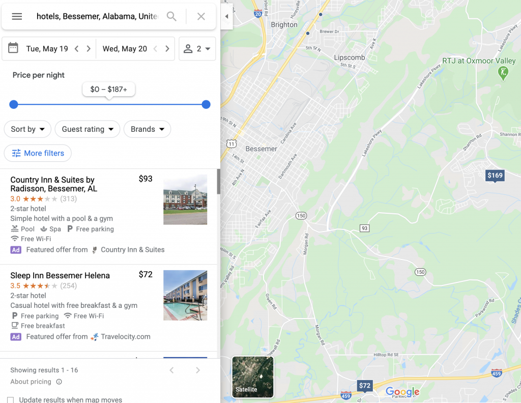 How to extract data from google maps