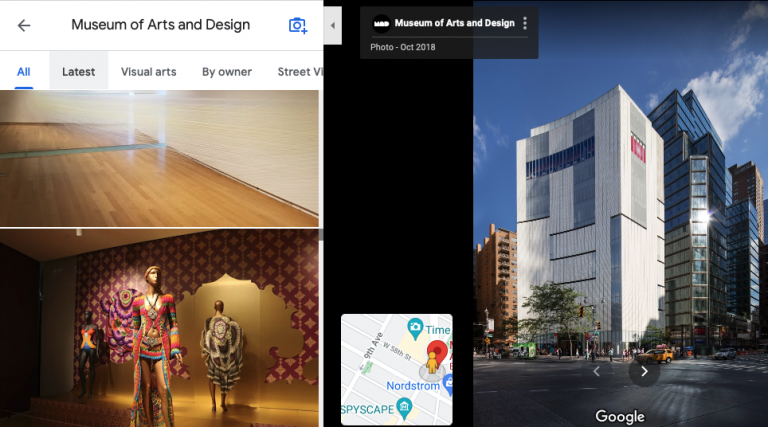 गूगल मैप्स फोटो स्क्रैपर